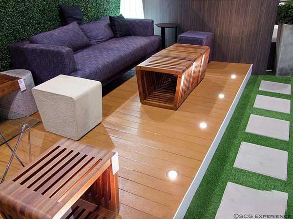 ứng dụng gỗ lót sàn